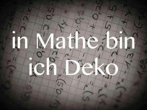 mathe-deko